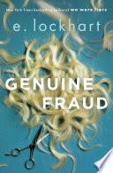 Genuine Fraud Book Cover