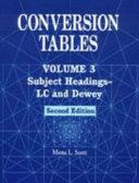 Subject headings LC and Dewey Book PDF