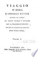 Viaggio in Sicilia di Federico M  nter