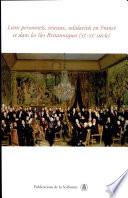 Liens personnels, réseaux, solidarités en France et dans les îles britanniques (XIe-XXe siècle)
