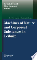 Machines Of Nature And Corporeal Substances In Leibniz book
