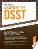 Official Guide to Mastering the DSST  Principles of Supervision
