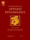 download ebook encyclopedia of applied psychology pdf epub