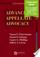 Advanced Appellate Advocacy
