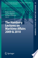 The Hamburg Lectures on Maritime Affairs 2009   2010