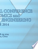 International Conference on Economics and Management Engineering  ICEME2014