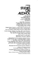 Journal of Studies on Alcohol