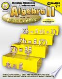 Helping Students Understand Algebra II  Grades 7   8