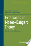 Extensions of Moser–Bangert Theory