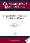 Categorification in Geometry  Topology  and Physics