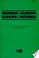 Norden i Europa - Europa i Norden