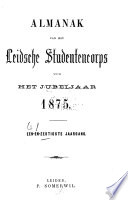 Almanak van het Leidsche studenten-corps ...