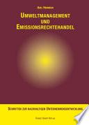 Umweltmanagement und Emissionsrechtehandel