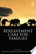 Bereavement Care For Families book