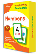 Numbers Flashcards 52 Cards