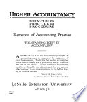 Higher Accountancy