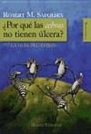 Por Qu Las Cebras No Tienen Lcera