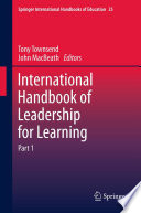 International Handbook of Leadership for Learning