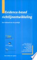 Evidence-based richtlijnontwikkeling