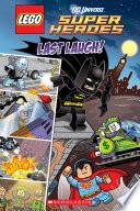 Last Laugh Lego Dc Super Heroes Comic Reader
