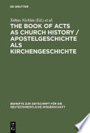 Apostelgeschichte Als Kirchengeschichte