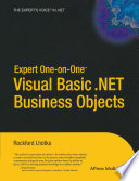Expert One On One Visual Basic Net Business Objects