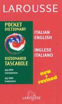 Larousse Pocket Dictionary