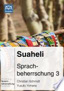Suaheli Sprachbeherrschung 3