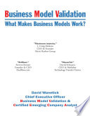 Business Model Validation  What Makes Business Models Work