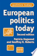 Ebook European Politics Today Epub Geoffrey K. Roberts,Patricia Hogwood Apps Read Mobile