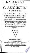 Regle du Pere S. Augustin