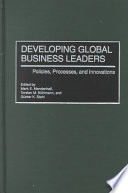 Developing Global Business Leaders