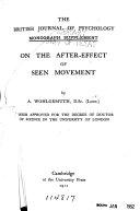 Pleasure   Unpleasure  an Experimental Investigation on the Feeling elements Book PDF