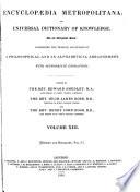 Encyclopaedia Metropolitana  History and biography