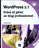 Wordpress 2 7