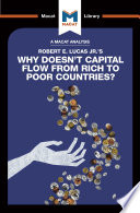 Why Doesn T Capital Flow From Rich To Poor Countries
