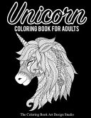 Unicorn Coloring Book for Adults  Adult Coloring Book Gift