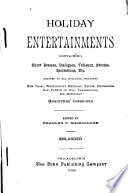 Holiday Entertainments Book PDF