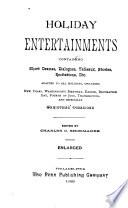 Holiday Entertainments