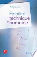Fiabilit   technique et humaine