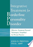 Integrative Treatment for Borderline Personality Disorder