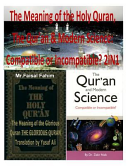 The Meaning of the Holy Quran  the Qur an   Modern Science