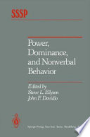 Power  Dominance  and Nonverbal Behavior