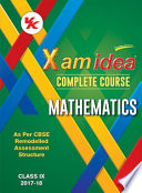 Xam idea Complete Course Mathematics   Class 9