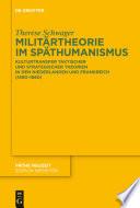 Militärtheorie im Späthumanismus