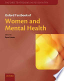 Oxford Textbook Of Women And Mental Health