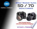 Konica Minolta Dynax   Maxxum   Alpha 5D   7D Digital Cameras  Amazon  com Edition