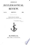 American Ecclesiastical Review Book PDF