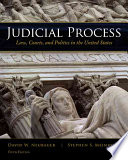 Judicial Process  Law  Courts  and Politics in the United States