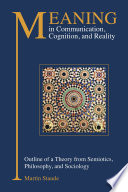 Meaning in Communication  Cognition and Reality